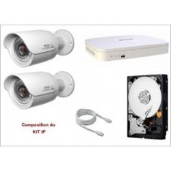 Kit IP supportant 4 caméras
