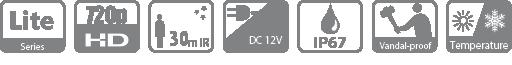 caracteristiques hac-hdbw1100e Dahua